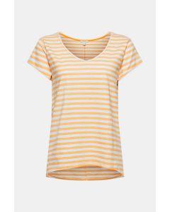 T-shirt à rayures, 100 % coton biologique