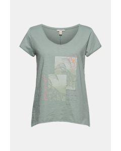 T-shirt à imprimé, 100 % coton biologique
