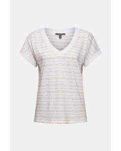 Coton et lin : le t-shirt rayé