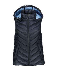 En matière recyclée : la veste en 3M™ Thinsulate™, sans manches